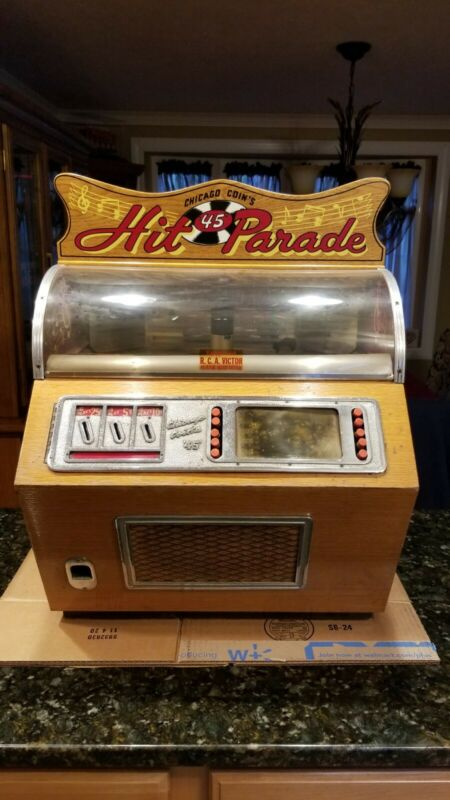 Chicago Coin Hit Parade Jukebox