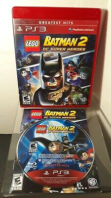 LEGO Batman 2 DC Super Heroes (Sony PlayStation 3 PS3, 2012)