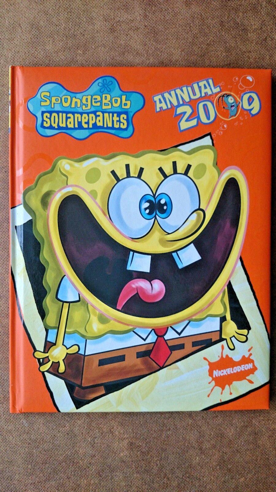 SpongeBob SquarePants  Annual: 2009 by Egmont UK Ltd (Hardback, 2008)