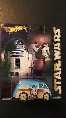 HOT WHEELS POP CULTURE STAR WARS QUICK D-LIVERY R2-D2 2015 SAVE 5/% WORLDWIDE