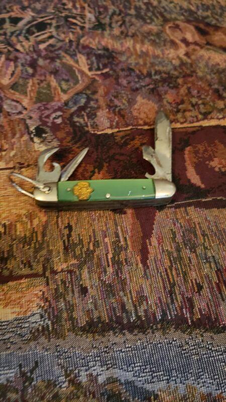 Vintage Kutmaster 4-Blade Girl Scout Knife