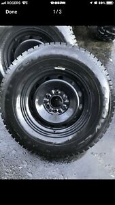 Centara Snow Cutters Studded Winter Tires and Rims