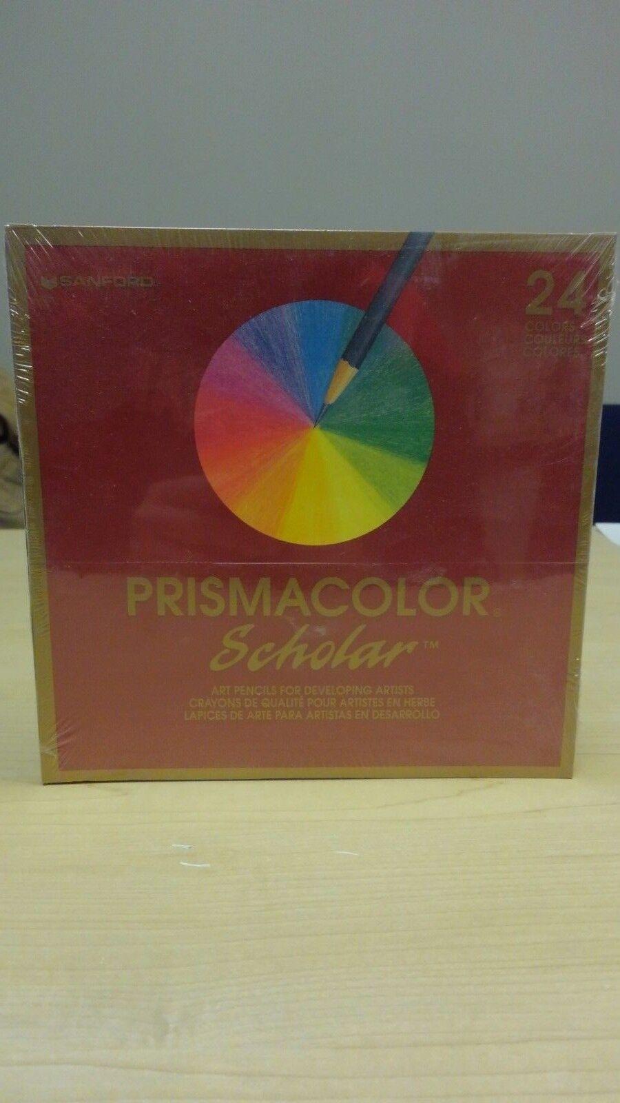 Prismacolor Scholar Student/Artisis Quality Colored Pencils