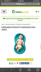 Keekaroo peanut change pad