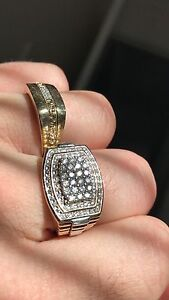 Gold diamond ring Michael hill Quinns Rocks Wanneroo Area Preview