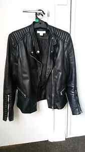Faux leather jacket black Scarborough Stirling Area Preview