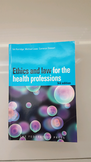 Ethics and law for the health professions - 3rd edition