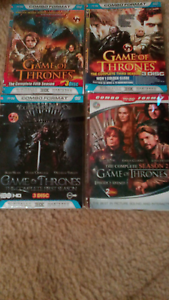 Game of Thrones complete seasons 1,2,3,5 disks perfect Atwell Cockburn Area Preview