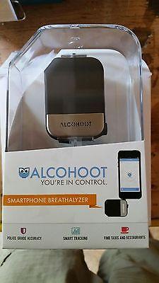 Lot of 9  Alcohoot ATH 101 Smartphone Breathalyzer, Black