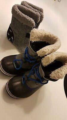 Sorel Kinder Winterstiefel Stiefel plus Ersatz Einlagen Größe 31 ()