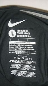 RARE NIKE BE TRUE T SHIRT GAY PRIDE RAINBOW BLACK  #BETRUE
