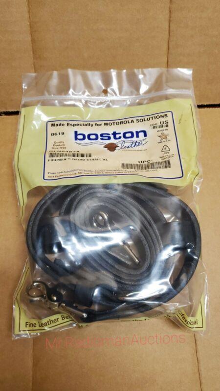 BOSTON LEATHER 6543 XL FIREMANS RADIO STRAP, MOTOROLA RLN6487A