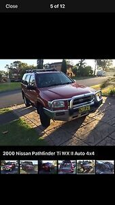 Nissan Pathfinder 4x4 auto Warners Bay Lake Macquarie Area Preview