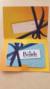 PROUDS GIFT CARD $170 VALUE Merriwa Wanneroo Area Preview
