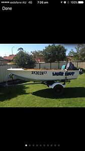 3metre tinny boat hull St Helens Park Campbelltown Area Preview