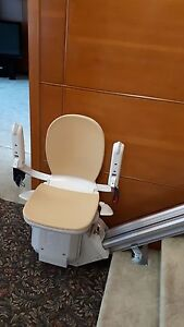 PAIR OF ACORN STAIRLIFT SYSTEMS WITH 2 CHAIRS LIKE NEW