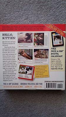 2016 Page A Day Desk Cat Calendar  Workman Publishing  Mib  Meow     Meow