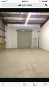 FERGUS HEATED SHOP SPACE FOR RENT