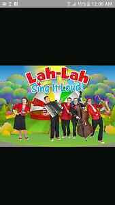 4 x Tickets to Lah Lah Sing It Loud Daw Park Mitcham Area Preview