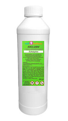 Aroma Sauna Exclusivo 'Eucalipto' 500ML Botella - Alta Concentración / Esencias