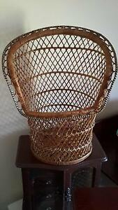 Peacock chair inspired basket. Bullsbrook Swan Area Preview