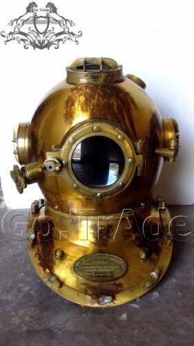 Morse US Navy Vintage Dive Helmet Mark V Antique Sea Diving Divers Gift Helmet