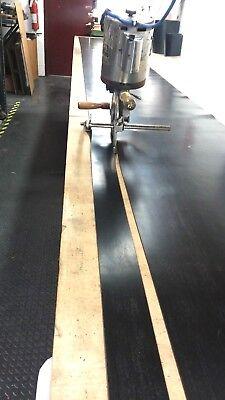 Neoprene Sheet Rubber Solid Strip 18 Thk X 2 W X 30 Foot 1-pc Roll 60d