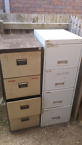 Filing cabinets with four working drawers Thorneside Redland Area Preview