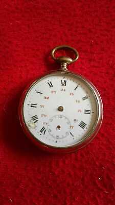 Old Key Open Face Beaucourt Pocket Watch-Not Working