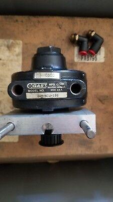 Gast 2am-ncw-10b Air Motor W Pulley
