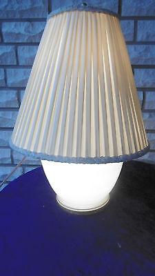 TOP,große,alte Tischlampe mit beleuchtetem Glasfuß (WMF Ikora?) Art Deco