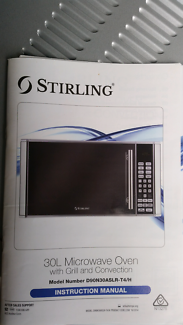 30L Microwave Oven with Grill and Convection