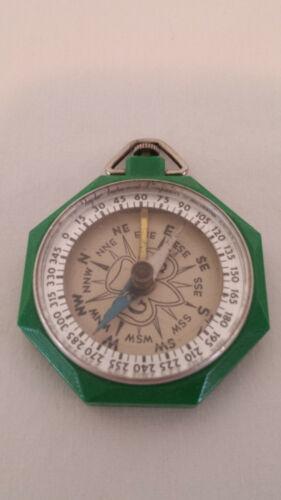 Vintage Bakelite Green Girl Scout Compass TAYLOR 1930-1940