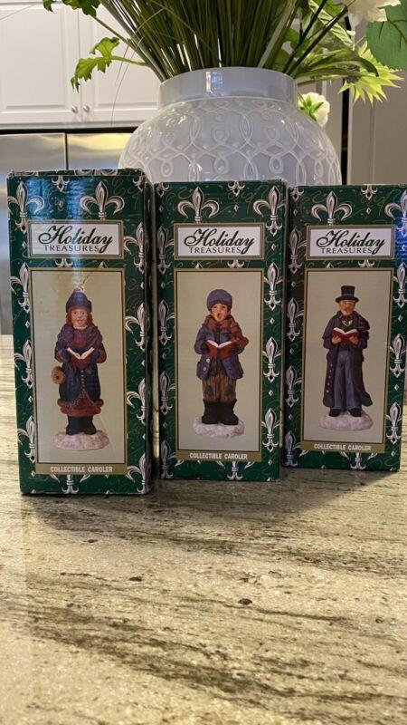 Holiday Treasures Collectible Carolers Set (3)