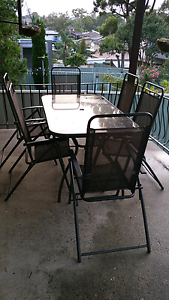Outdoor table and chairs Bankstown Bankstown Area Preview