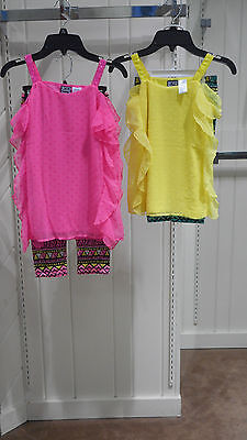 Girls Pogo Club Of Ny Size 4 5 6 6X 7 8   10 12 Top W T Leggings 2Pc  Sets