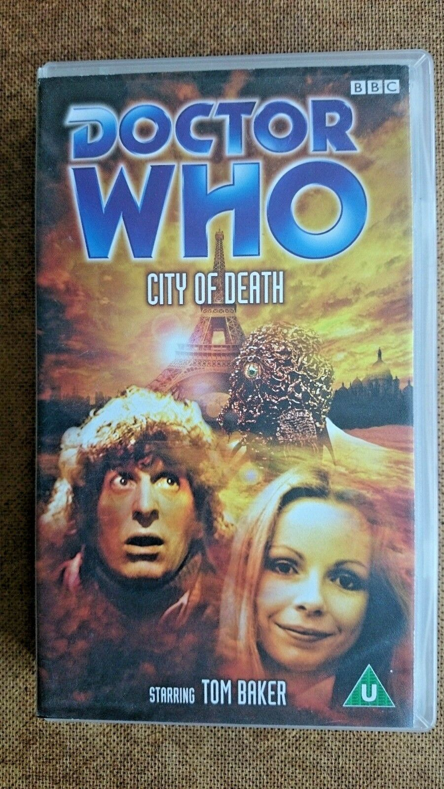 Doctor Who - City Of Death (VHS, 2001) - Tom Baker