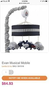 Baby mobile Musical pour enfant