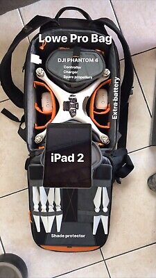 DJI Revenant 4 Drone - iPad 2 - Extra Battery - LowePro Drone Bag