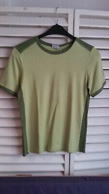 NEUES T-Shirt Herren THE SPIRIT OF OM Bambus-Viskose Gr. S, grün