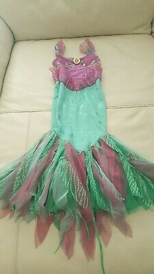Toddler Kids Girls Little Mermaid Tail Ariel Halloween Facy Costume Dress XS 4 - Toddler Little Mermaid Costume
