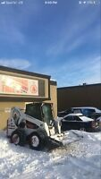 SK Skid Steer Services [SNOW REMOVAL AND MORE]