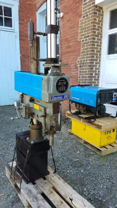 "Clausing 20"" Variable Speed Drill Press"