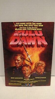 Zulu Dawn Trans World Entertainment Folder   Info Pack Burt Lancaster John Mills