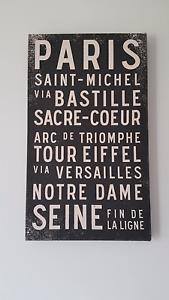 Paris-themed Canvas Print Mountain Creek Maroochydore Area Preview