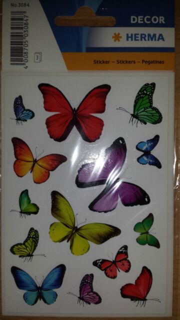 HERMA Sticker Schmetterlinge - Aufkleber zum Dekorieren
