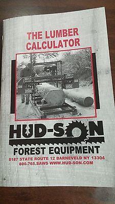 Lumber Calculator Portable Sawmill Saw Mill Chainsaw Chain Saw Bandmill Band Mil