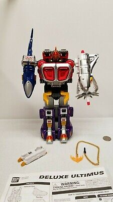 Power Ranger WILD FORCE DX Deluxe ULTIMUS megazord morpher transforming complete](Powerranger Megazord)