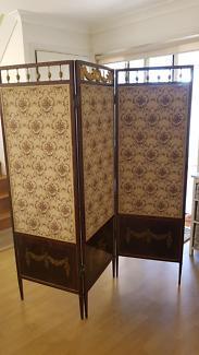 Rare Antique French Dressing Screen