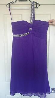 Size 14 off-shoulder formal dress